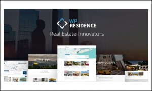 WP Residence - WordPress Themes for Real Estate