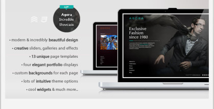 Agora - Responsive Showcase Wordpress Theme