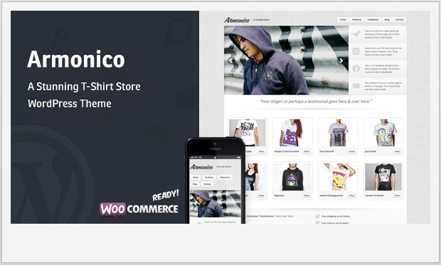 Armonico - Store WordPress Theme