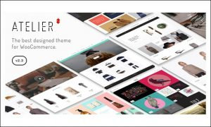 Atelier - WordPress Themes for Stores