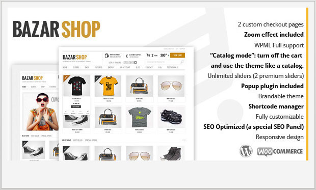 Bazar Shop - Store WordPress Theme