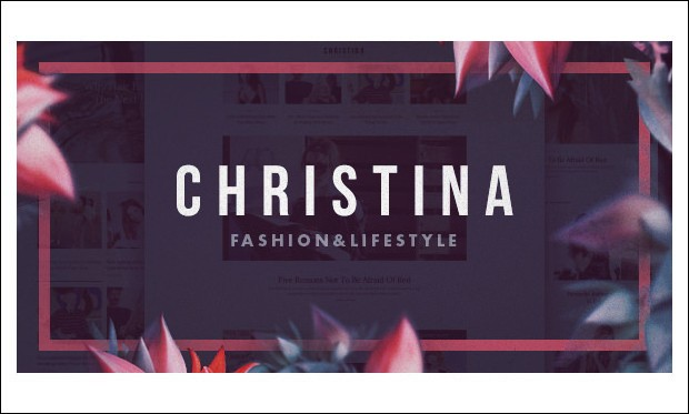 Christina -  Feminine WordPress Themes