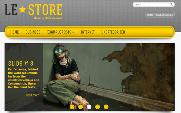 Lestore - Store WordPress Theme