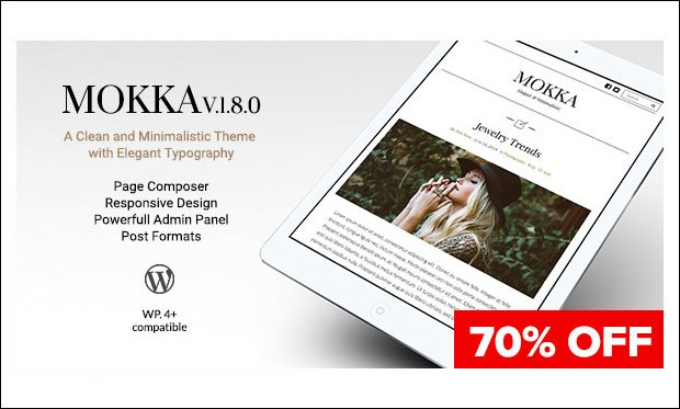 Mokka - Feminine WordPress Themes