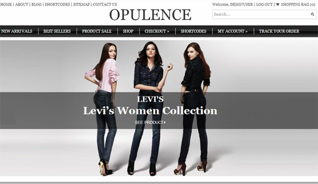 Opulence - Store WordPress Theme