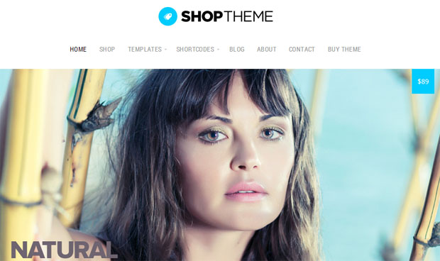 Organic Shop - Store WordPress Theme