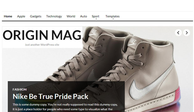 Originmag - Store WordPress Theme