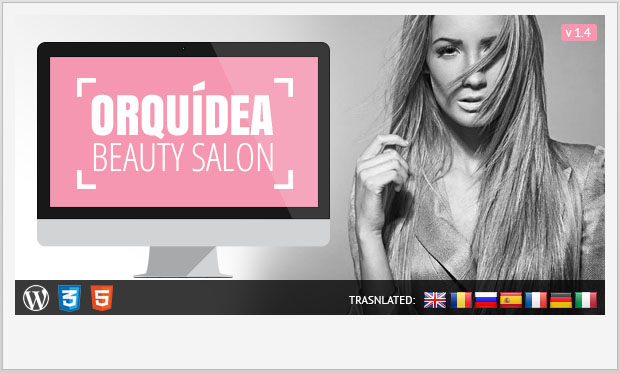 Orquidea - Girly WordPress Theme