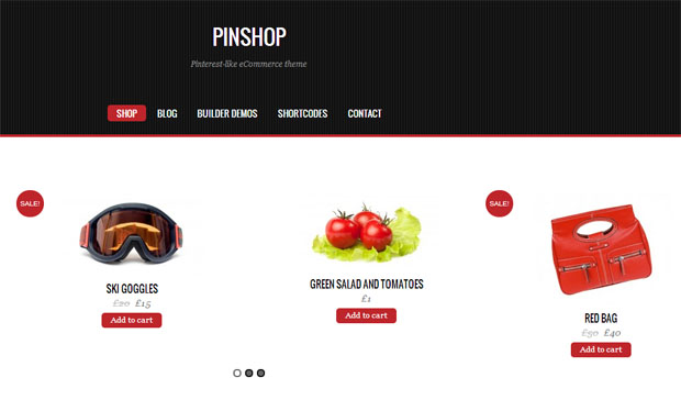 Pinshop - Store WordPress Theme