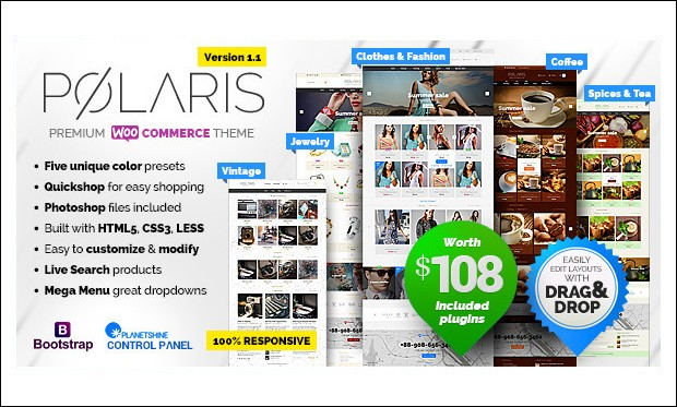 Polaris - WordPress Themes for Stores