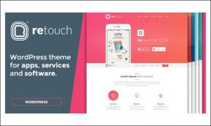 ReTouch - Showcase WordPress Themes