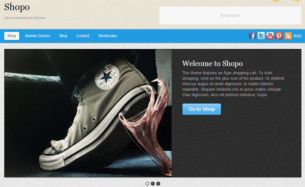 Shopo - Store WordPress Theme