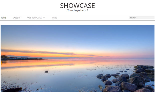 Showcase Gallery - Responsive Showcase WordPress Theme