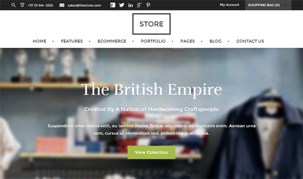 Store - Store WordPress Theme