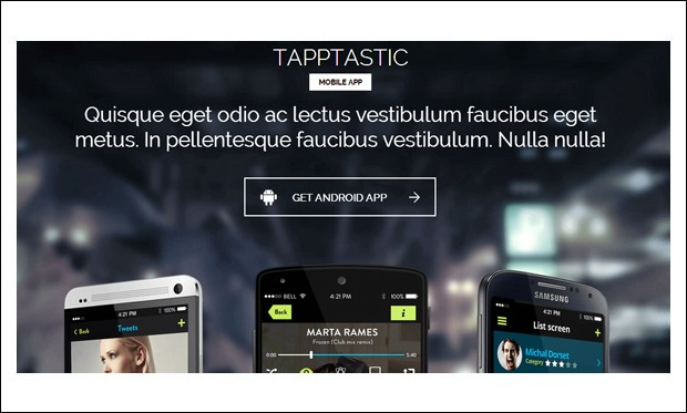 Tapptastic - Showcase WordPress Themes