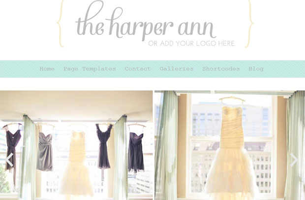 The Harper Ann - Girly WordPress Theme