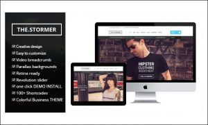 The Stormer - WordPress Themes for Stores