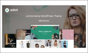 adot - WordPress Themes for Stores