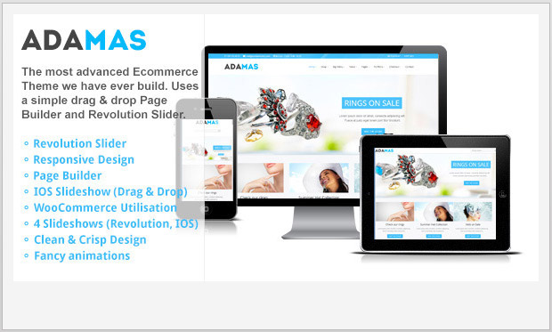 Adamas -Responsive WooCommerce WordPress Theme