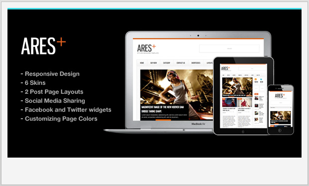 25 Responsive Magazine Wordpress Themes