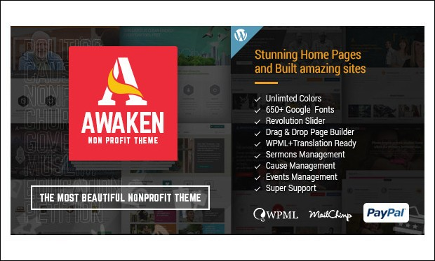 Awaken - WordPress Themes for Charities