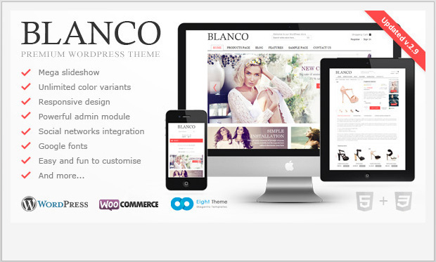 Blanco -Responsive WooCommerce WordPress Theme