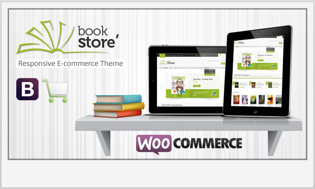 Book Store -Responsive WooCommerce WordPress Theme
