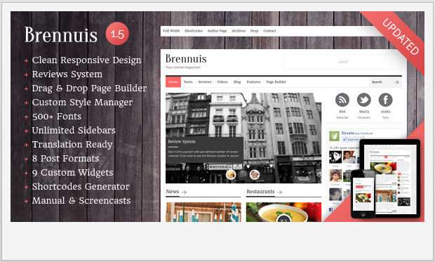 Brennuis -Best Responsive WordPress Theme for Bloggers
