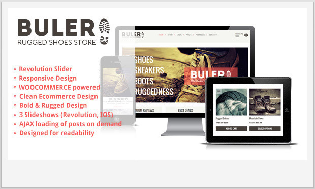 Buler -Responsive WooCommerce WordPress Theme