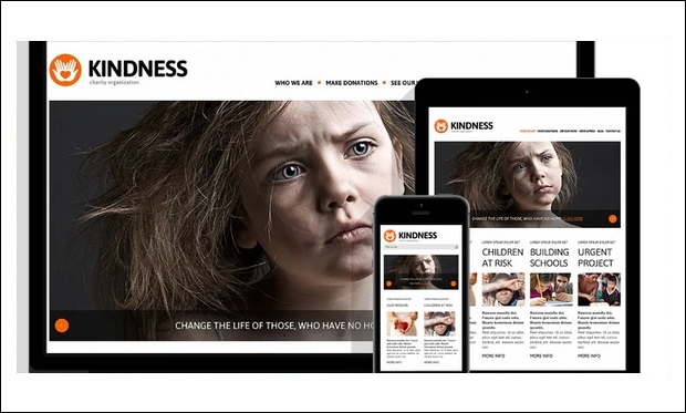 Charity Foundation - WordPress Themes for Charities