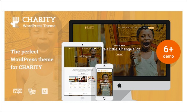 Charity WP - WordPress Themes for Charities