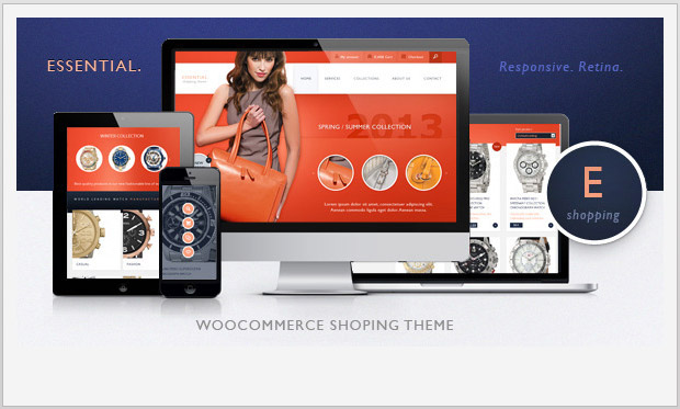Essential -Responsive WooCommerce WordPress Theme