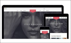 Fashion Stylist - Responsive WordPress Themes