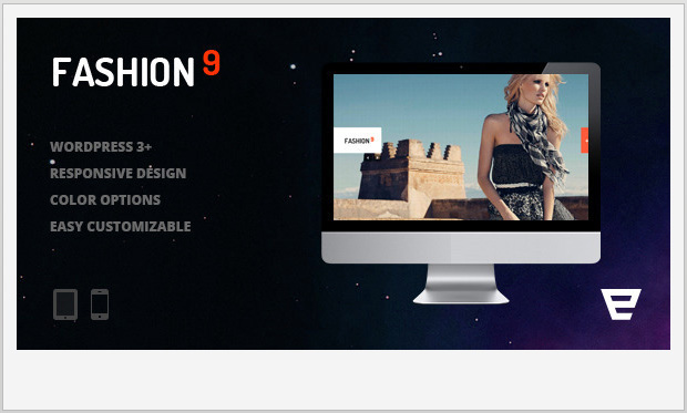 Fashion9 -Responsive WordPress Theme for Photographers