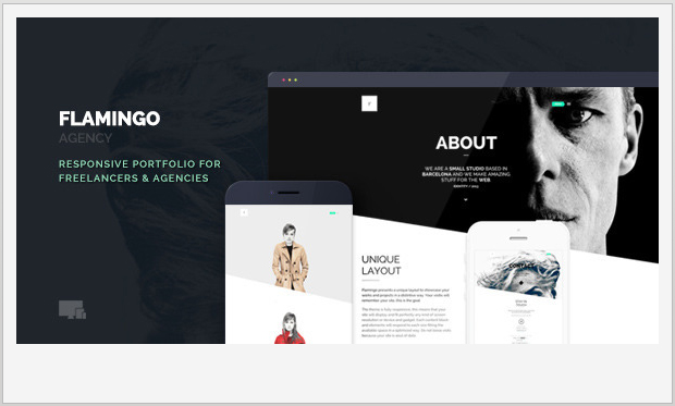 Flamingo -Minimalist Responsive WordPress Theme