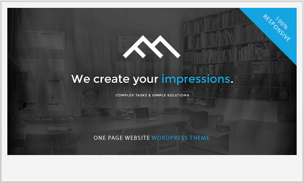 FollowMe -Single Page WordPress Theme