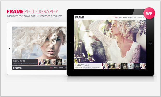 Frame Photography -Minimalist Responsive WordPress Theme