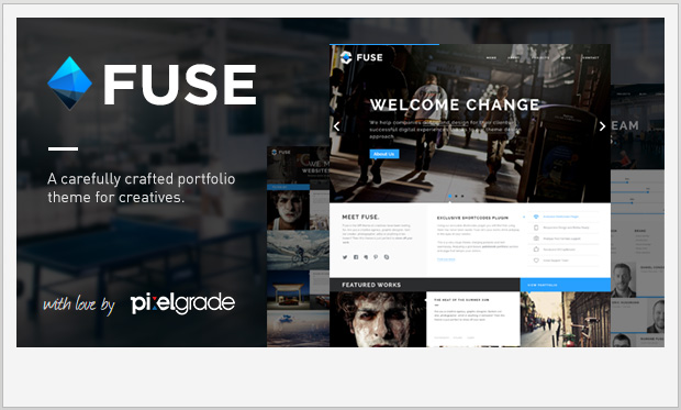 Fuse -Responsive Three Column WordPress Theme
