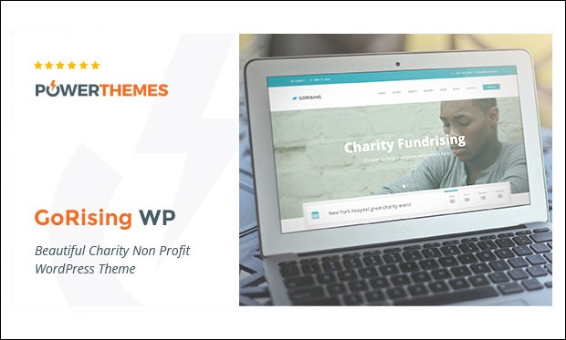 GoRising - WordPress Themes for Charities