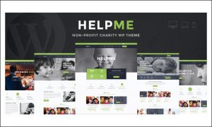 HelpMe - WordPress Themes for Charities