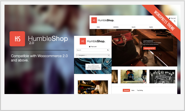 HumbleShop -Minimalist Responsive WordPress Theme