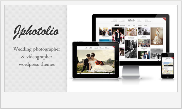 JPhotolio -Responsive WordPress Theme for Photographers
