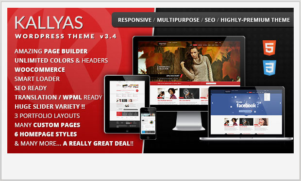 KALLYAS -Responsive WooCommerce WordPress Theme