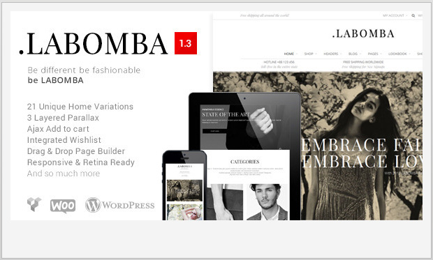 Labomba -Responsive WooCommerce WordPress Theme