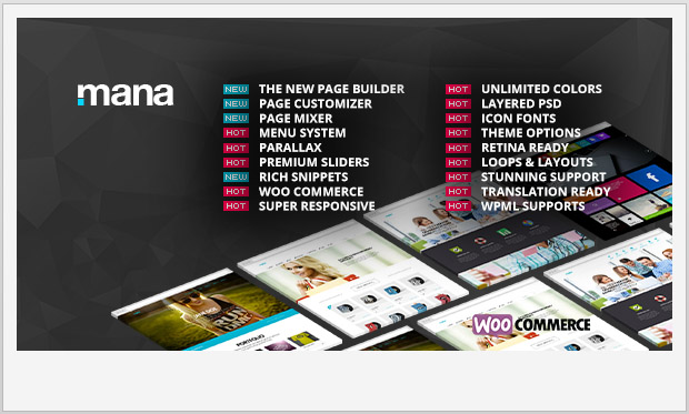 Mana -Responsive Metro WordPress Theme