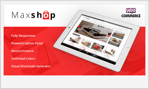 Maxshop -Responsive WooCommerce WordPress Theme