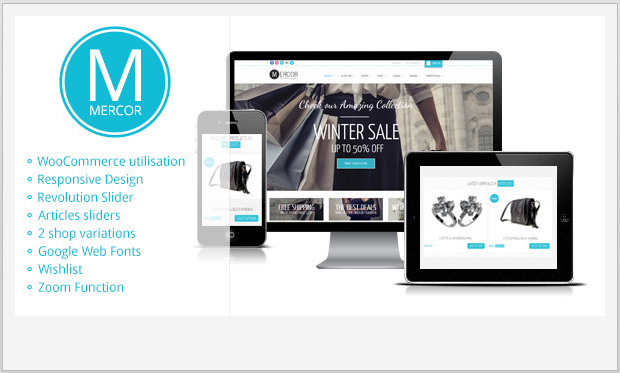 Mercor -Responsive WooCommerce WordPress Theme