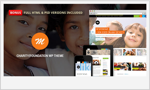 Mission -Responsive charity wordpress theme