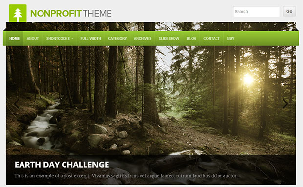 NON-PROFIT THEME -Responsive charity wordpress theme