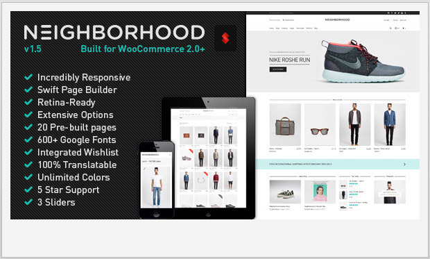 Neighborhood -Responsive WooCommerce WordPress Theme